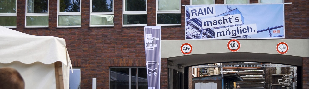 Werbung Tag der offenen Tür Banner