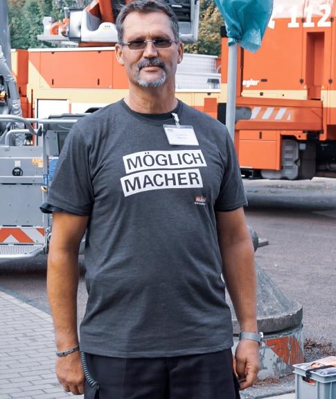Werbung Tag der offenen Tür T-Shirt