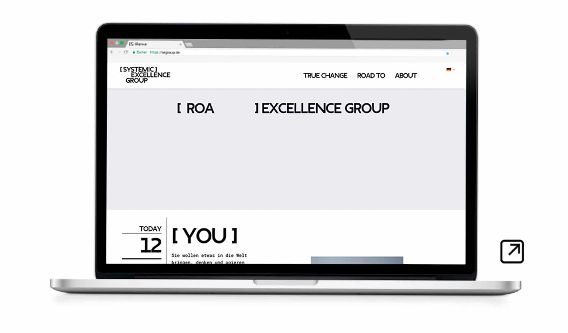 Webdesign Website SEgroup