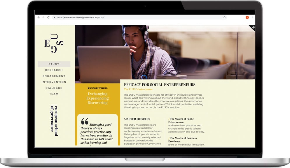 Website Design EUSG