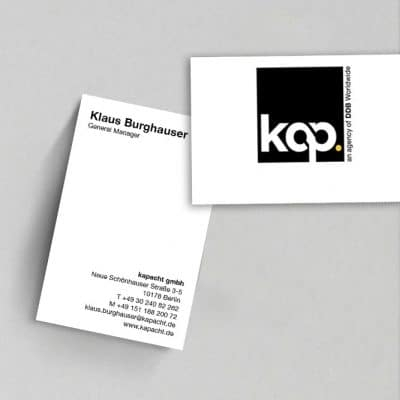 Corporate Design Werbeagentur Kapacht
