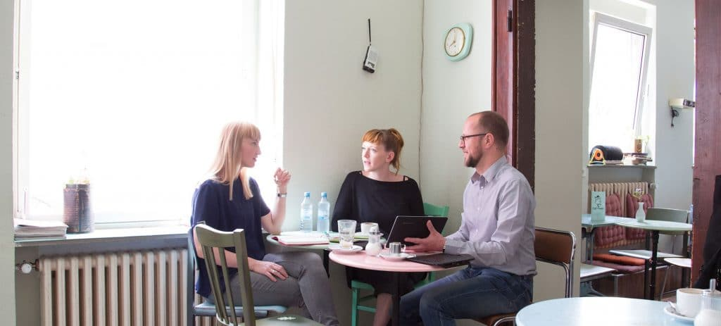 Kundengespräch @Kaffee